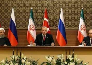 البيان الختامي لقمة أنقرة يشدد على وحدة سوريا